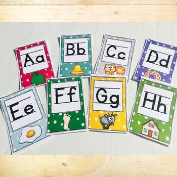 Alphabet Posters - Bright Colors