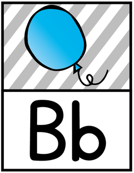 Alphabet Posters: Bright Designs