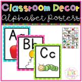 Alphabet Posters {Bright Polka Dots}
