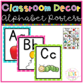 Alphabet Posters {Bright Polka Dots}