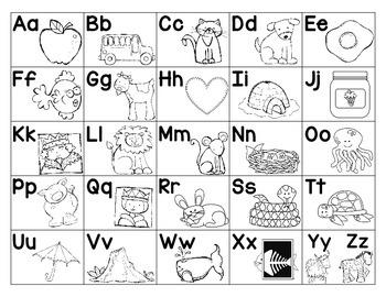 Alphabet Posters- Bright Polka Dots