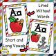Alphabet Posters, Bright Rainbow