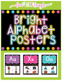 Alphabet Posters {Bright and Black Series}