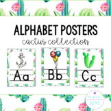 Alphabet Posters - Cactus Collection