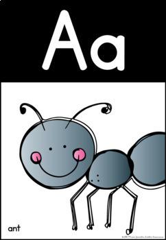 Alphabet Posters   Cactus Theme