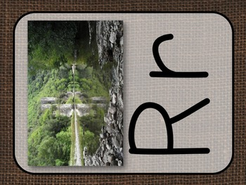 Alphabet Posters Camp and Nature Theme