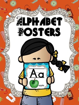Alphabet Posters - Camping Theme