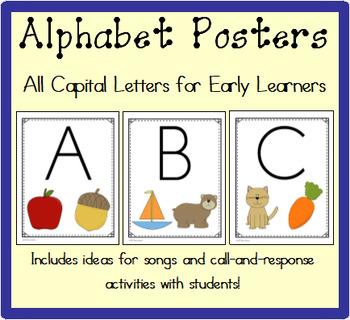 Alphabet Posters Capital Letters