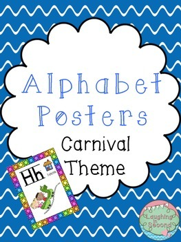 Carnival Themed Alphabet Posters