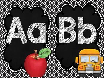 Alphabet Posters - Chalk Design