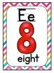 Alphabet Posters- Chevron