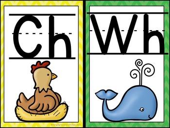 Alphabet Posters - Chevron