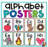 Alphabet Posters- Rainbow