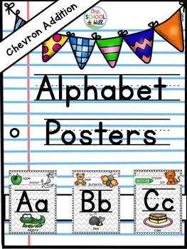 Alphabet Posters (Chevron Addition)