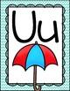 Alphabet Posters {Chevron Classroom Set}