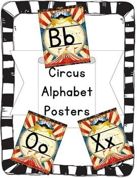 Alphabet Posters: Circus