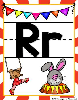 Alphabet Posters-Circus Theme