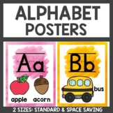 Alphabet Posters Classroom Decor