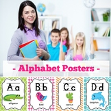 Alphabet Poster Bright