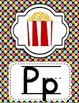 Alphabet Posters Classroom Decor-Bright Polka Dots Theme