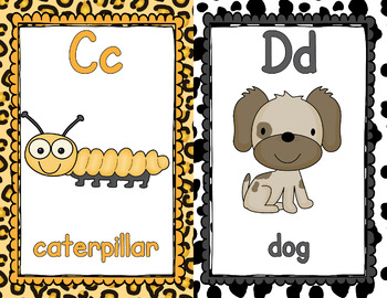 Alphabet Posters - Clipart - APT001