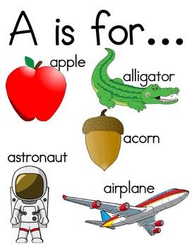 Alphabet Posters- Color