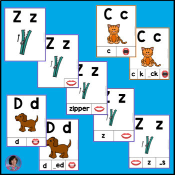 Alphabet Posters for Word Walls and Letter Sorting