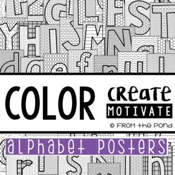 Alphabet Posters {Color Create Motivate}