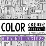 Alphabet Posters {Color Create Motivate}