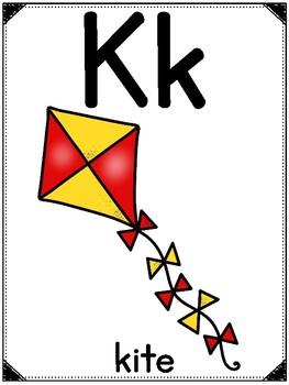 Alphabet Posters (Color Edition)