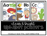 Alphabet Posters (Colorful and Bright)