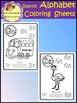 Alphabet Posters - Coloring Sheets - Spanish (School Designhcf)