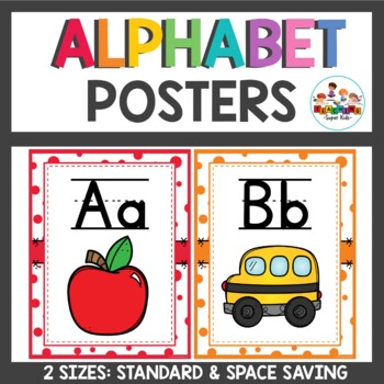 Alphabet Posters Confetti Sprinkle