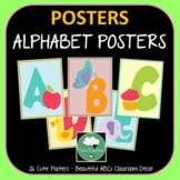 Alphabet Posters FREEBIE Cute ABC Posters with Beginning L