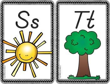 Alphabet Posters {D'Nealian Edition}