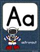 #roomdecor Classroom Decor Alphabet Posters - Denim Background ABC