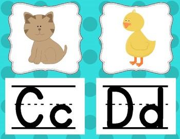 Alphabet Posters - Dots