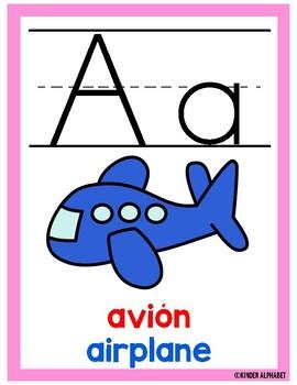 Alphabet Posters- Dual Language
