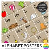 Alphabet Posters Editable