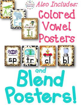 Alphabet Posters, Editable Bunting & Worksheets {Jungle Zoo Safari Theme}