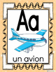Alphabet Posters-FRENCH Version with Picture /Word-FLS or