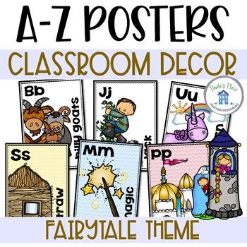 Alphabet Posters Fairy Tale Theme