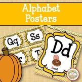 Alphabet Posters - Fall Autumn