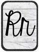 Alphabet Posters (Farmhouse/Shabby Chic)