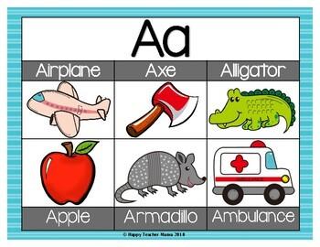Alphabet (Posters & Flashcards)