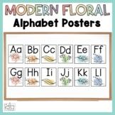 Alphabet Posters Floral Classroom Decor