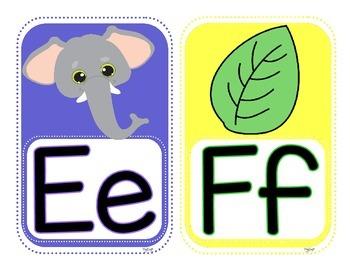 French Alphabet Posters A à Z et 0 à 10