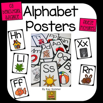 Alphabet Posters - Frieze Pictures {Benchmark Advance}