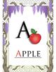 Alphabet Posters - Fruit & Veggie Theme