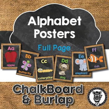 Alphabet Posters - Full page